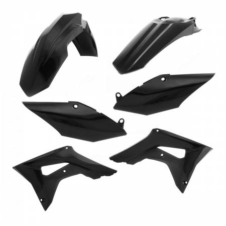 Plastic Kit Honda CRF 450 17-18, CRF 250 2018, Black