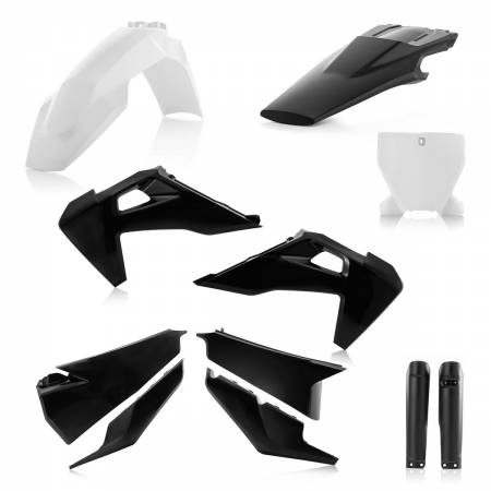Plastic Kit Full-Kit Husqvarna FC 250-350-450, TC 125-250 19-20, Black-White