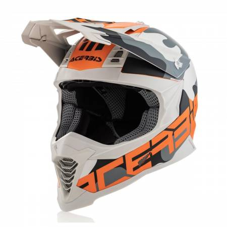 Helmet Impact X-Racer VTR Orange-Black-White2